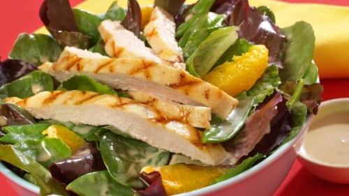 Spicy Chicken Apple Salad