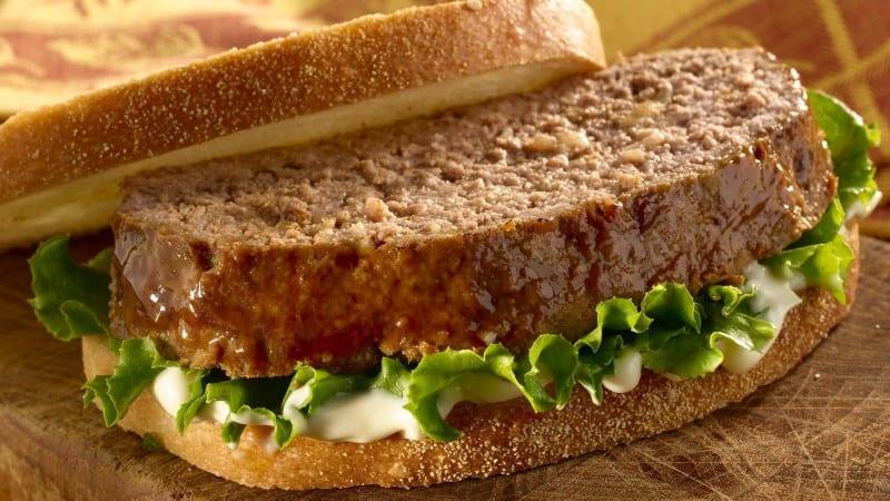 Hearty Meatloaf Sandwich