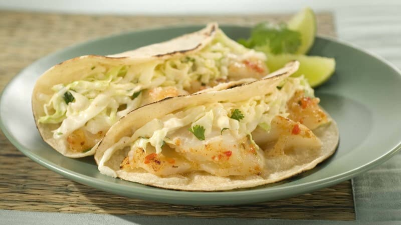 Grilled Chipotle Fish Tacos