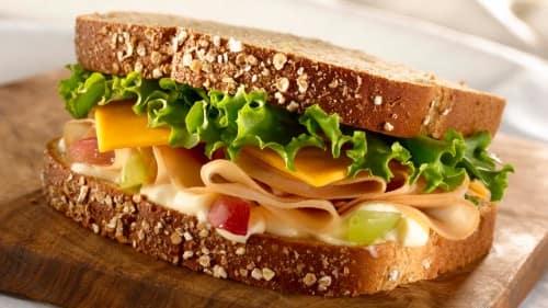 Honey Roasted Turkey Sandwich