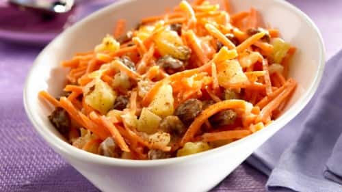 Tropical Pineapple-Carrot Salad Recipe
