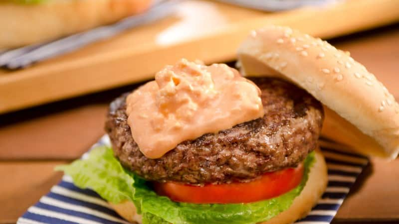 Red, White & Blue Game Day Burgers