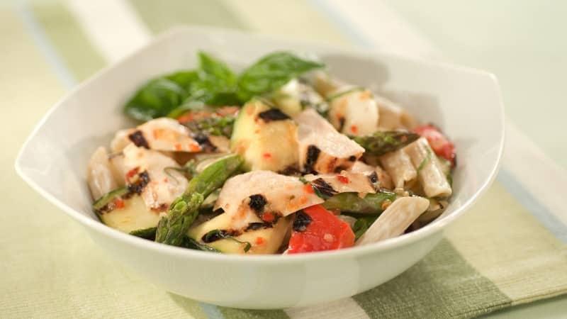 Grilled Chicken & Veggie Pasta Salad