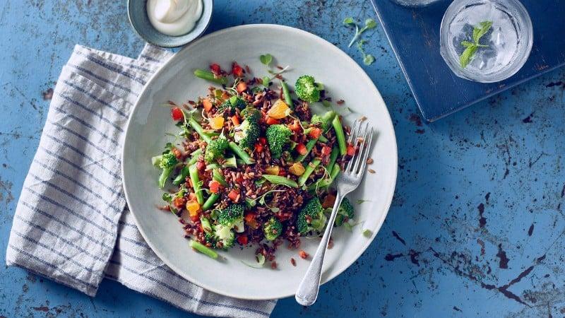 Salmon & Grain  Salad