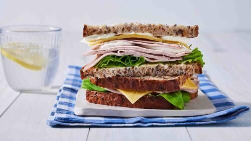 Turkey & Cheese Sandwich Recipe