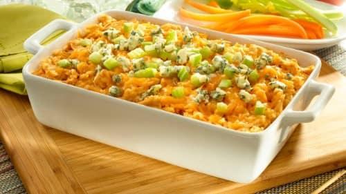 Buffalo Chicken Rice Recipe