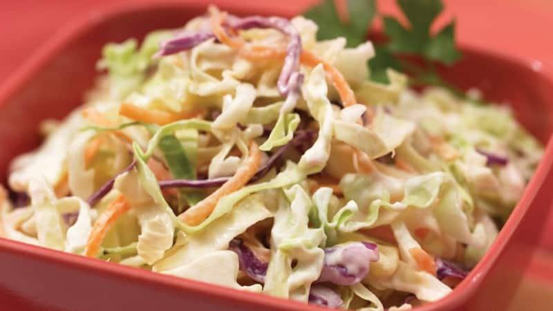 Quick & Simple Coleslaw Recipe