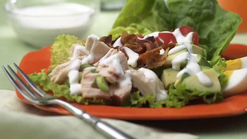 Ranch Tuna Cobb Salad