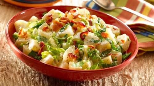 Bacon-Caesar Potato Salad Recipe