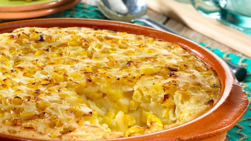 Corn & Onion Pudding