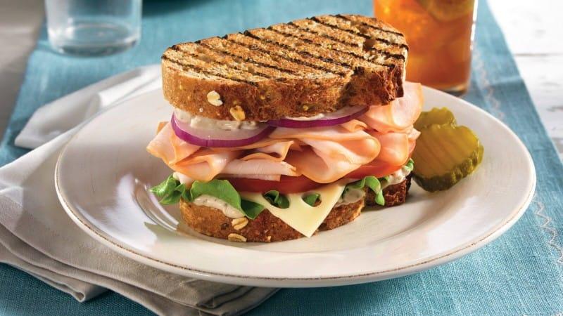Balsamic Turkey Sandwiches