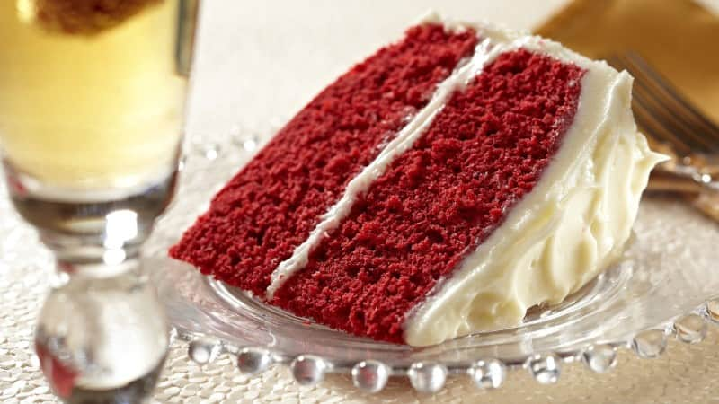 Super Moist Red Velvet Cake with Cream Cheese Frosting