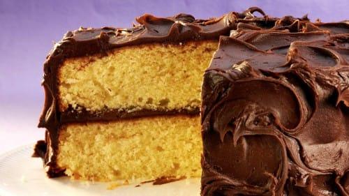Super Moist Yellow Mayo Cake Recipe