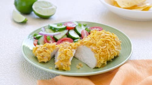 Chipotle-Lime-Crusted Chicken