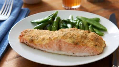 Parmesan Crusted Salmon Recipe PERFECT RECIPE