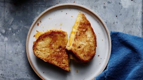 Perfectly Crispy Grilled Cheese Recipe
