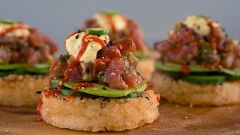 Spicy Tuna Strangewiches
