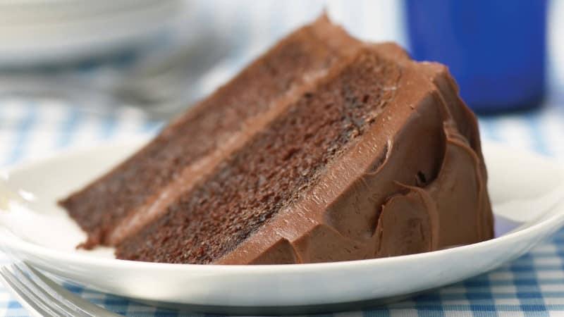 Pastel de mayonesa de chocolate