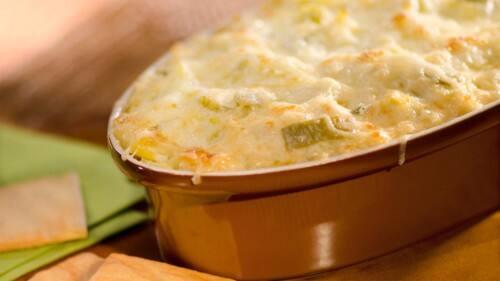 Salsa mexicana picante de alcachofas