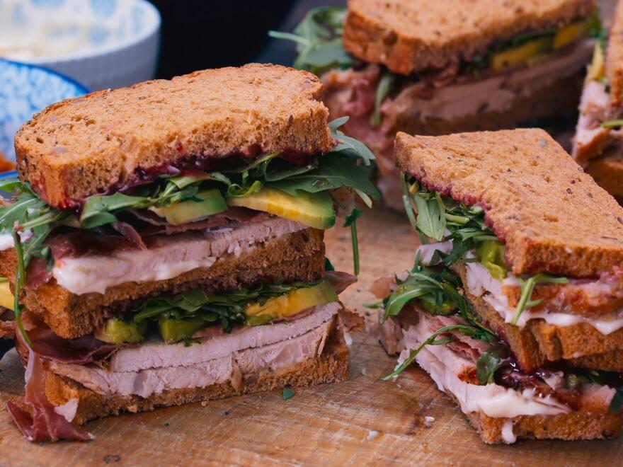 Recetas de sándwiches y hamburguesas