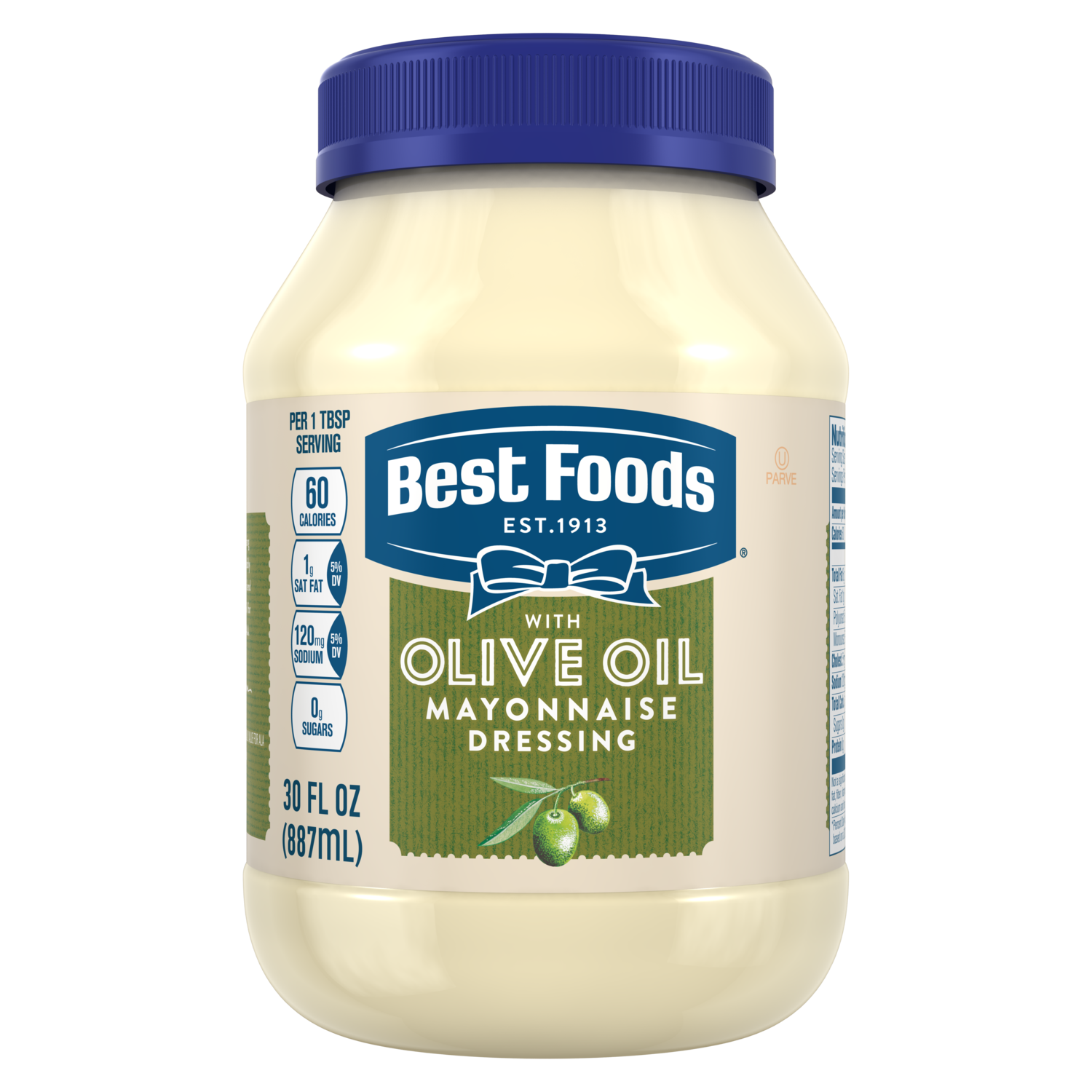 Best Foods Olive Oil Mayonnaise Nutrition Facts