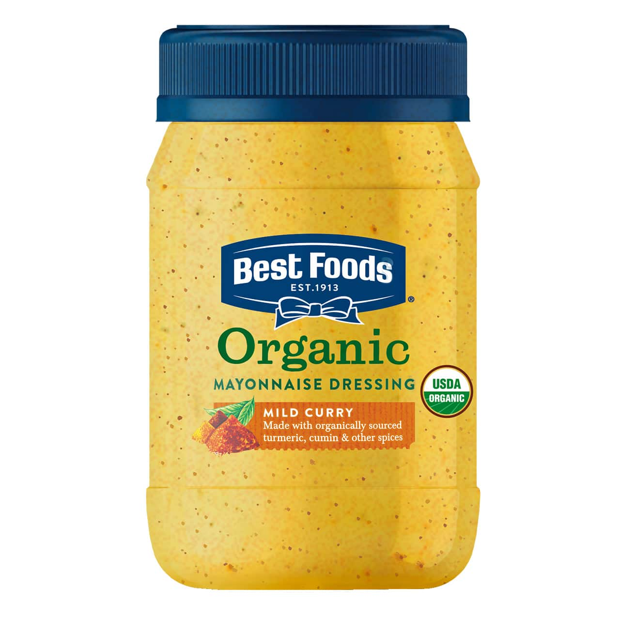 Organic Mild Curry Mayonnaise Dressing